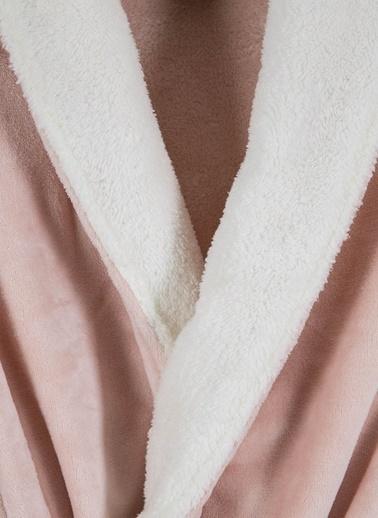 Mollia Soft Touch Ultra Kadın Sabahlık Pembe